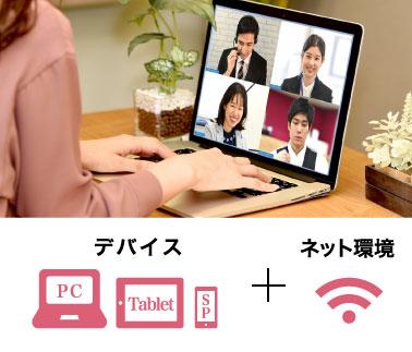 デバイス+ネット環境